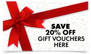 Save 20% Off Christmas Gift Vouchers