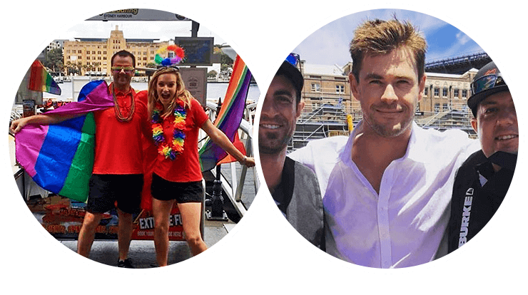Our staff are awesome. Check out  Chris Hemsworth