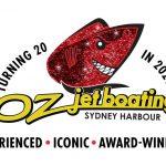 Oz Jet Boating 20th Anniversary Logo
