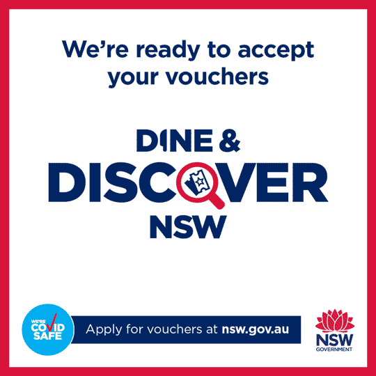 Dine and Discover NSW - Vouchers